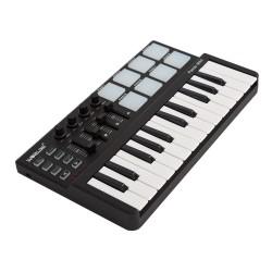 Mini-USB-Keyboard mit 25 Tasten und Drum-Pad-MIDI-Controller