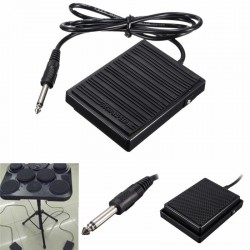 Universal foot sustain pedal - controller switch for electronic keyboards