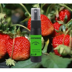 Parfum fraise - spray corporel - parfum 10 ml