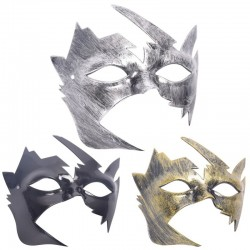 Antique silver & gold - Venetian face mask - plastic