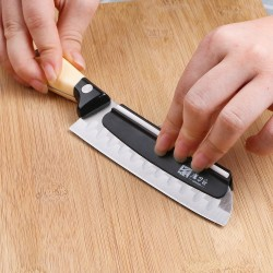 Kitchen knife sharpening precision tool - pocket knife