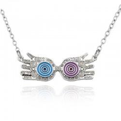 Luna's lucky hands - long necklace