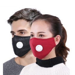 Anti Pollution Mask Dust Respirator Washable Reusable Masks Cotton Unisex Mouth Muffle for AllergyA