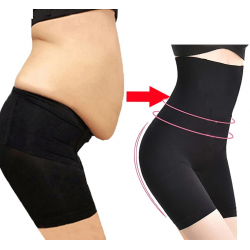 Tummy control - legs and waist modeling - body shaper - high waisted shorts