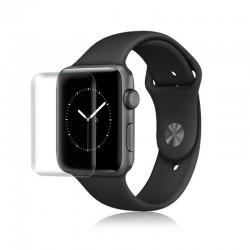 3D full screen waterproof smart watch protector - scratch-resistant soft hydrogel film for apple watch