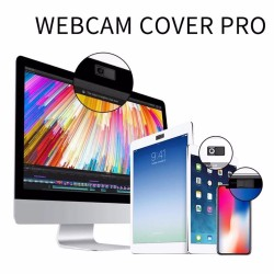 3pcs Webcam Cover Privacy Protection Case For Laptop PC Notebook Tablet Macbook