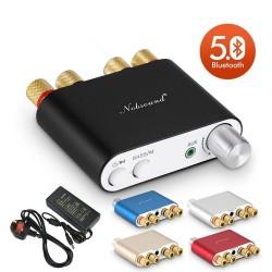 2020 Nobsound HiFi TPA3116 Mini Bluetooth 50 50W2 Digital Amplifier Stereo Home Car Audio Power Am