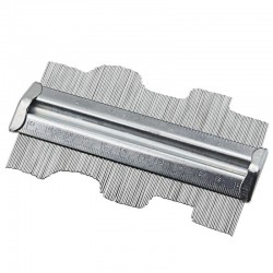 125mm 5inch Metal Professional Contour Profile Gauge Guage Tiling Laminate Tiles General Tools Conto