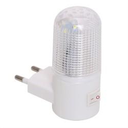 Emergency Light Wall Lamp Home Lighting LED Night Light EU Plug Bedside Lamp Wall Mounted Energy-eff