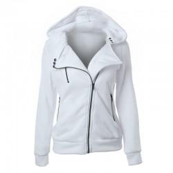 2018 Autumn Winter Jacket Women Coat Casual Girls Basic Jackets Zipper Cardigan Sleeveless Jacket Fe