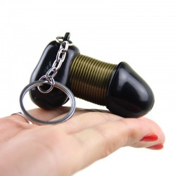 male genitalia key chain - sexy keyring creative jewelry keychains good gift for lovers