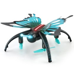 JJRC H42WH WIFI FPV - 0.3MP camera - voice control - altitude hold - butterfly RC Drone Quadcopter