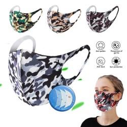 Masque de bouche / visage à la mode - anti-poussière - respirant - lavable - masque éponge