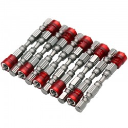 65mm PH2 Magnetische Bits Sechskantschaft Schraubendreher 10er