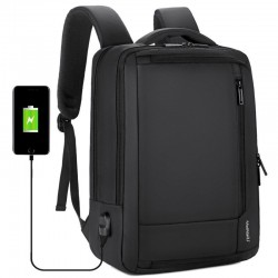 "Anti-diefstal waterdichte rugzak - 15.6"" inch laptop tas - met opladen via USB"