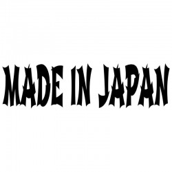 MADE IN JAPAN - car sticker