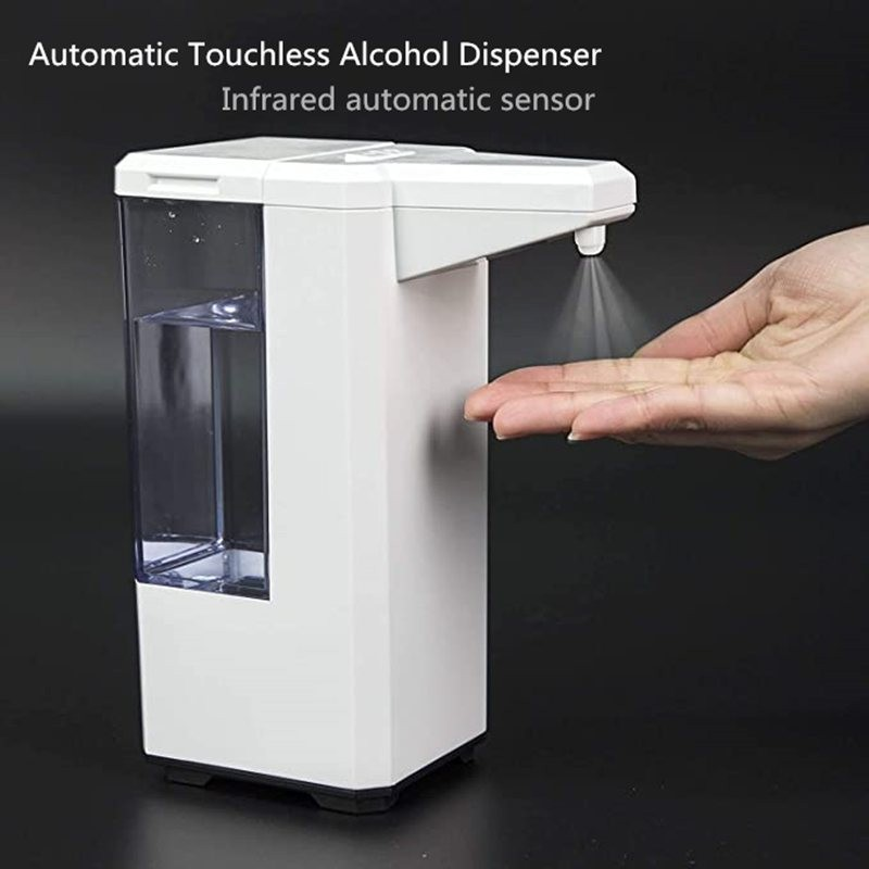500ml - automatic - touchless alcohol dispenser - hand sanitiser