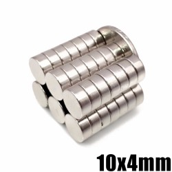 neodymium magnet - round super powerful strong permanent magnetic imanes disc