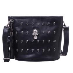 Skull Face Handbag - Women