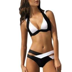 Black & white swimsuit - bikini set