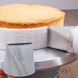 Extra large stainless steel icing nozzle - cream cake decorating