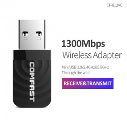 1300Mbps Mini wireless adapter - windows XP/Vista/7/8/10 - Mac OS