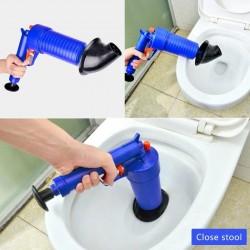Air pump plunger - clogged remover - bathroom
