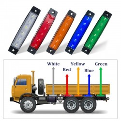 Car External Lights - LED - 6SMD - 12V/24V