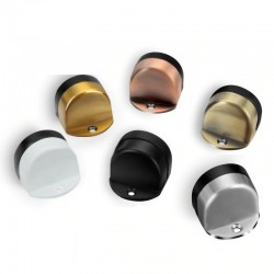 Stainless steel door stopper - waterproof - rubber