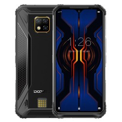 DOOGEE S95 Pro Global Bands - dual sim - 6.3 inch - NFC - Android 9 - 5150mAh - 8GB 128GB - 4G smartphone - black
