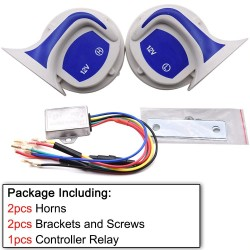 115dB Loud horn - auto - speaker - alarm 12V - car - vehicle - motor