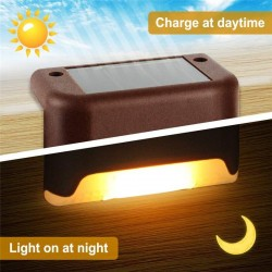 16/8PCS - Solar Deck Lights - Waterproof - Led - Garden