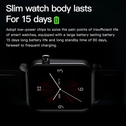 Smart Watch - Bluetooth - Android iOS - waterproof