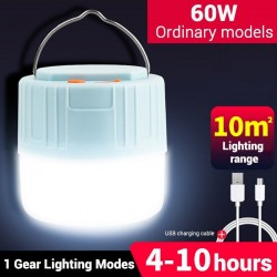 Camping / tent light - portable - solar - LED - super bright outdoor lamp with remote control