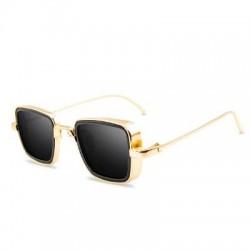 Steampunk - retro - square sunglasses - unisex
