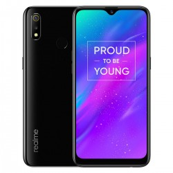 OPPO Realme 3 - dual sim - 6.2 Inch - Android 9 - 4230mAh - 3GB RAM 32GB ROM - Helio P70 - Octa Core - 2.1GHz - 4G