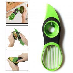 3 in 1 - avocado peeler - slicer - plastic knife