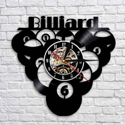 1Piece - Billiards - Ball - Pool - LED - Wall Clock - Nightlight Clock
