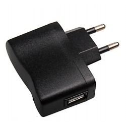 EU Power Adapter USB Charger Smartphone Tablet