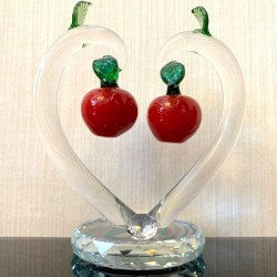 Glass - Crystal Cherry Tree - Fengshui Ornament
