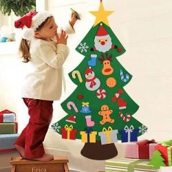 Vilten kerstboom - DIY kerstversiering