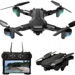 H12 - WIFI - FPV - 4K Dual HD Camera - 25mins Flight Time - Foldable - Altitude Hold