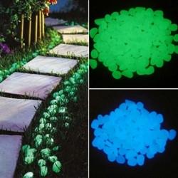 25 stuks / 50 stuks - glow in the dark tuinkiezelstenen