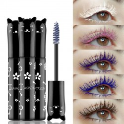 Color mascara - long-lasting - curling - lengthening - waterproof