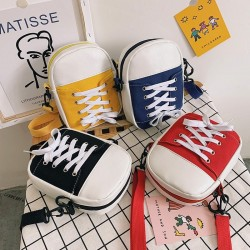 Creative Bag - Shoe style - Shoulder bag - black - red - yellow - blue
