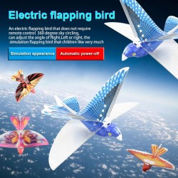 Electronic - flying bird plane - 2.4ghz - drone - kids