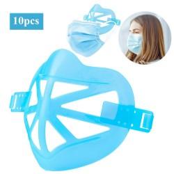 10 pieces - 3D face under mask holder - bracket