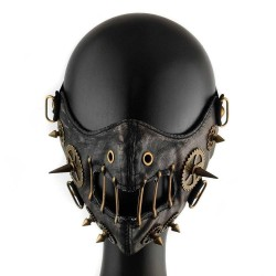 Steampunk Retro - Leather Mask - Unisex