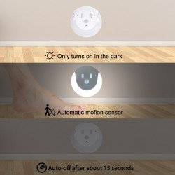 Motion Sensor - Night Light - USB - Smile Design