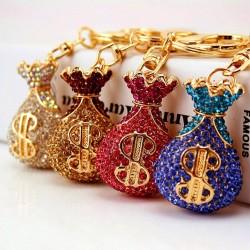 Creative - Crystal - Lucky Money - Keychain